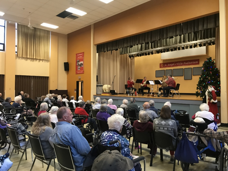 Older adults music aging in community