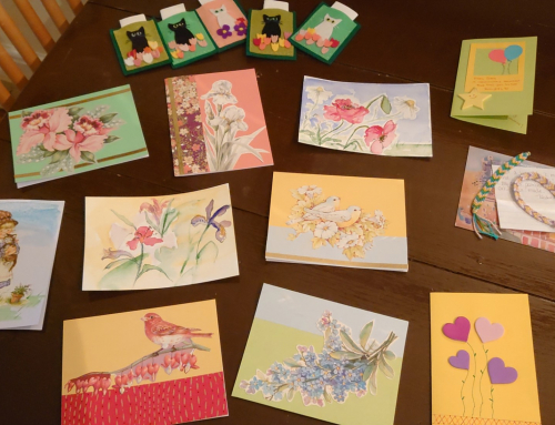 Art and Letters for Seniors: Intergenerational Connections in Times of Social Isolation